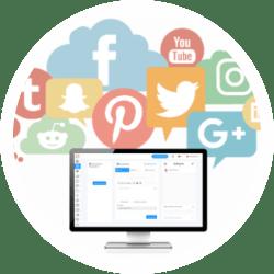 Multiple Social Media